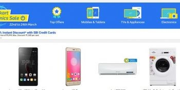 flipkart electronic sale