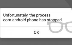 Fix com.android.phone error in android