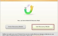 fix iPhone stuck in recovery mode