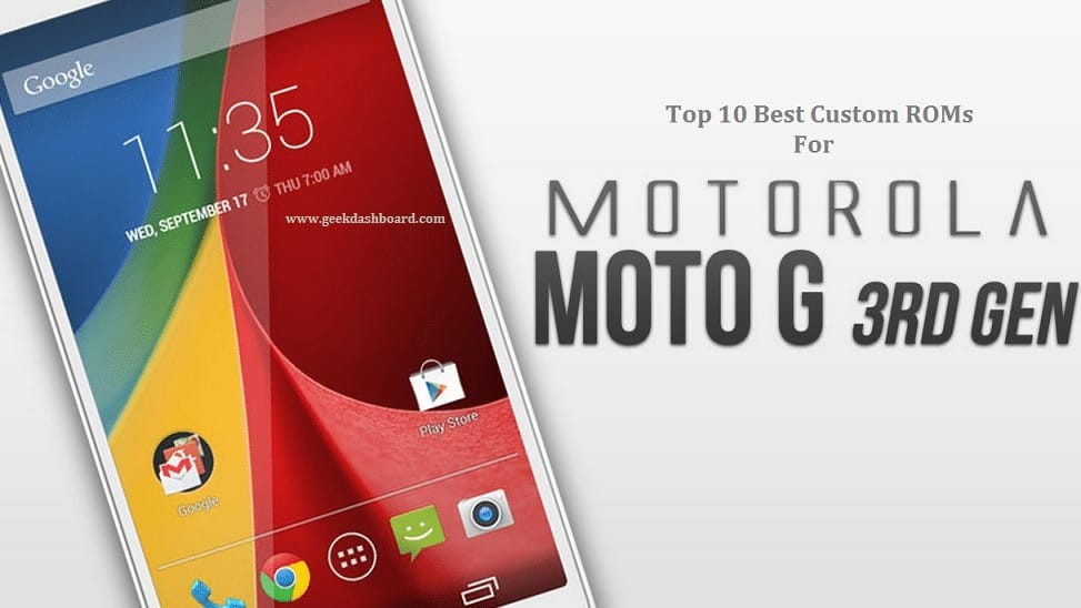 best custom rom for moto g 3 2015