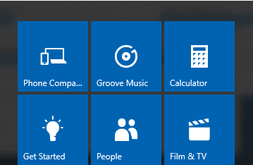 remove default core apps in Windows 10