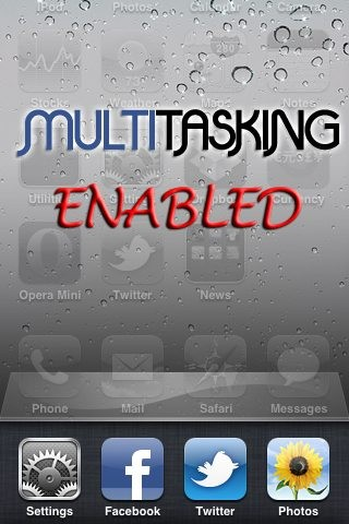 multitasking on iphone 3g