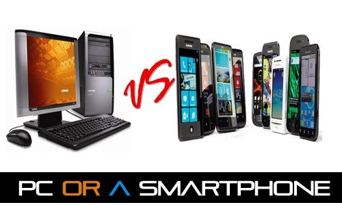 PC or a smartphone