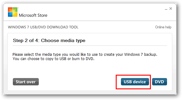 Windows-7-USB.DVD-download-tool step 2