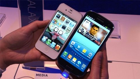 Samsung Galaxy S3 vs iPhone 5