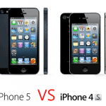 Comparison between iPhone 4S vs iPhone 5