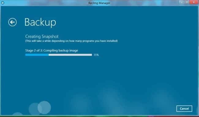 Windows 8 Backup
