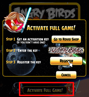 Download Angry Birds Star Wars Full Version for free