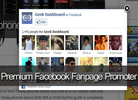 Premium Facebook Fanpage Promoter Review