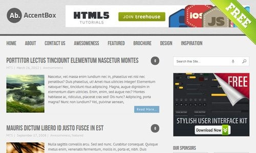 accentbox theme download