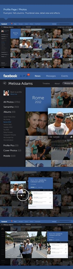 new photo viewing in Facebook