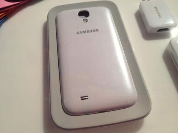 Samsung galaxy S4 Wireless charging