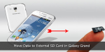 How to Move Data to External SD Card in Galaxy Grand