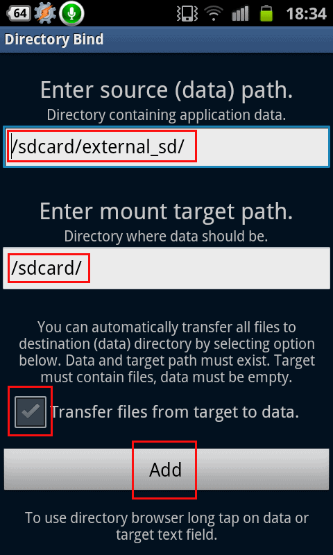 Move Data to External SD Card in Galaxy Grand