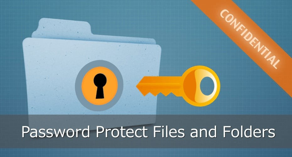 Password Protect Files and Folders