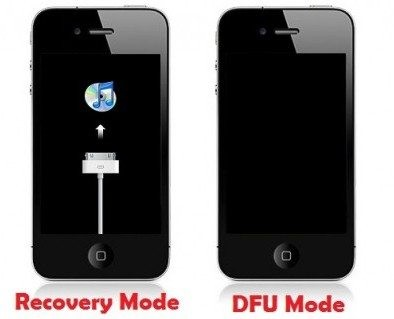 how to enter in to DFU mode in iPhone