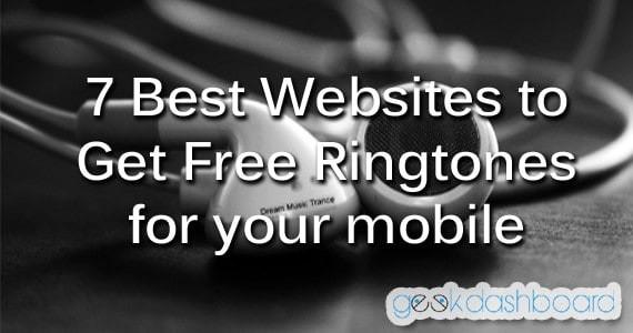 get free ringtones