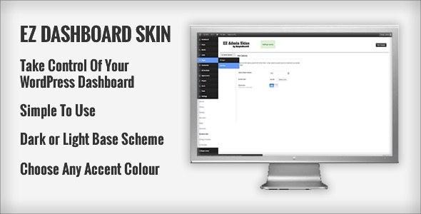 EZ WordPress Dashboard Skin