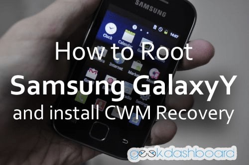 how to root samsung galaxy y GT-S5360