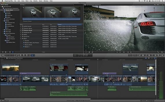 Final Cut Pro Video Editing Software