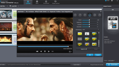 Wondershare Video Converter Ultimate Review - Add Effects