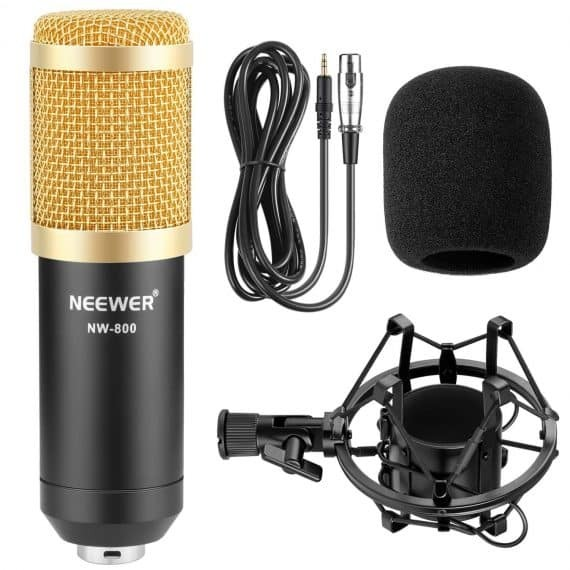 best microphones for YouTube voice overs