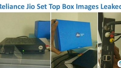 Jio Set top box images