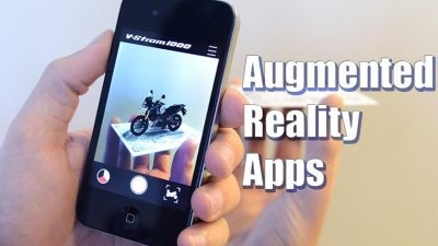 list of 10 Augmented Reality Apps
