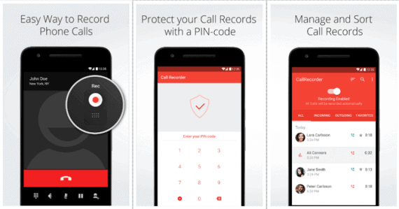 Automatic Call Recorder for Me by Apalon Apps