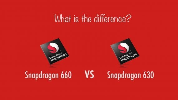 Snapdragon 660 vs Snapdragon 630