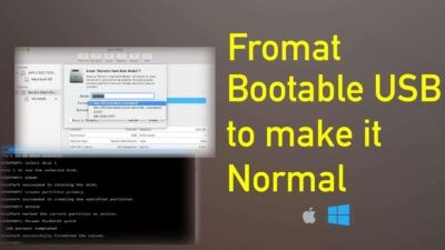 format bootable usb pendirve to make it unbootable