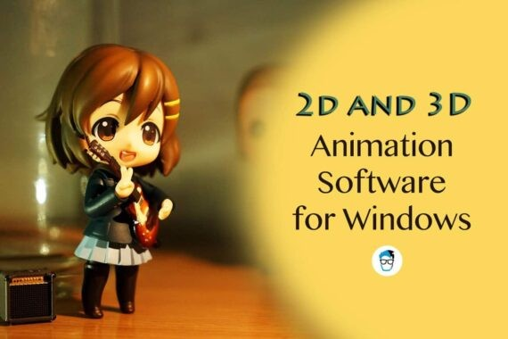 best 2D and 3D free animation software for Windows