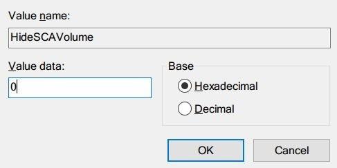 volume icon missing in taskbar error solution