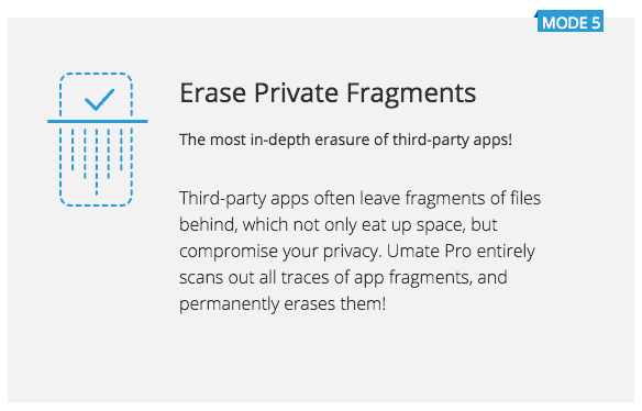 erase private fragments