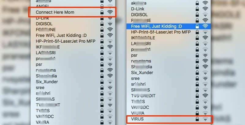 list of funny WiFi names