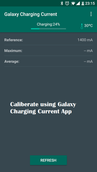 galaxy charging current