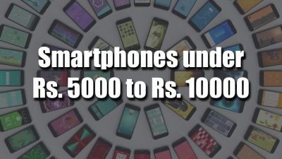 best smartphones under Rs. 10000