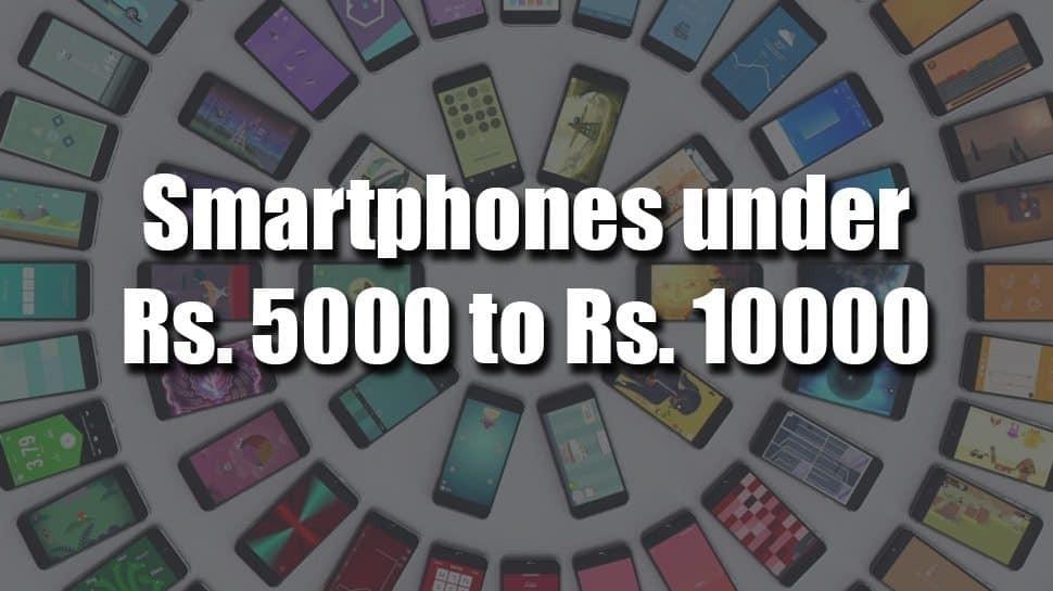best smartphones under Rs. 10000
