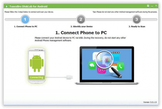 Connect your device to get started