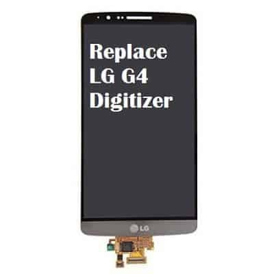 Replace digitizer for LG G4 won't turn on
