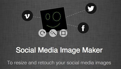 social media image maker for Instagram