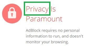Adblock vs Ublock - Privacy