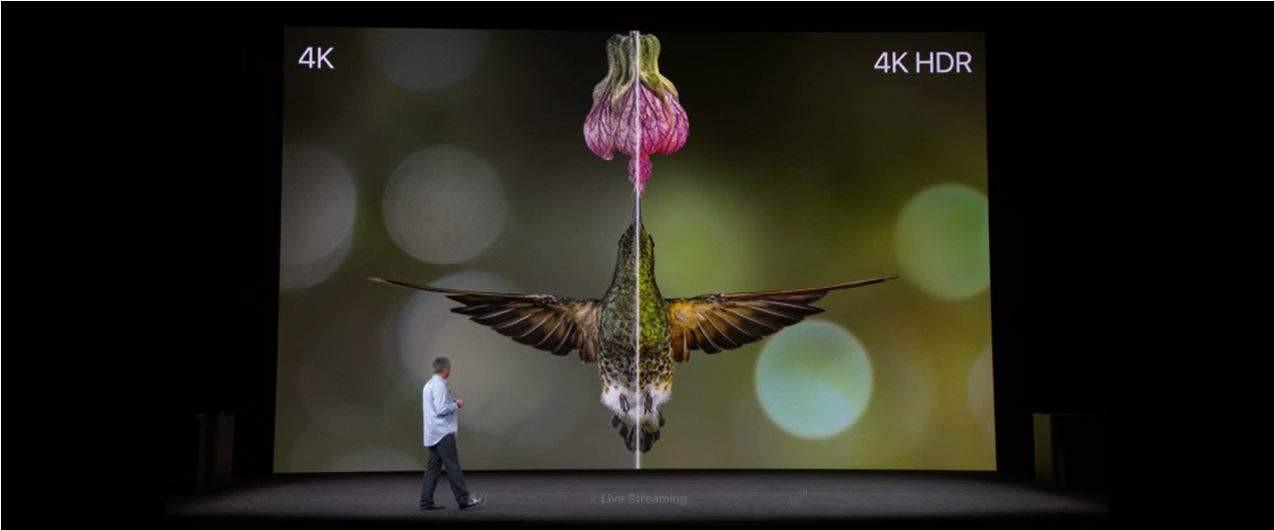 Apple 4K HDR TV