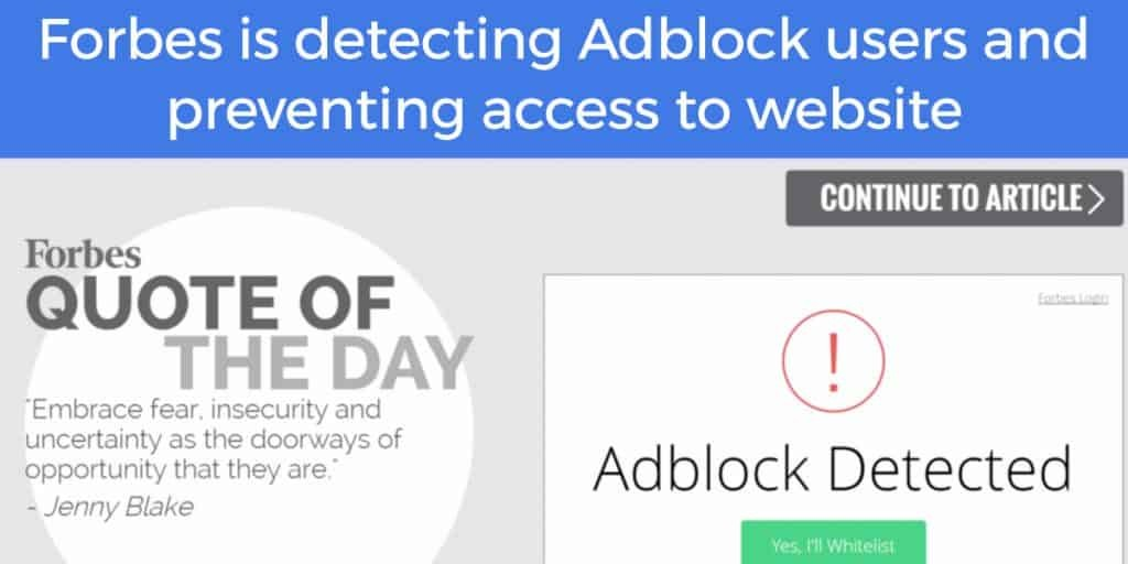 Abblock detection