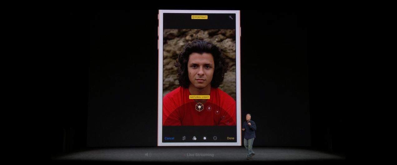 iphone 8 portrait light mode