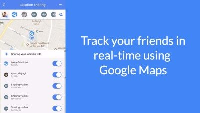 How to track your friends in real time using Google Maps