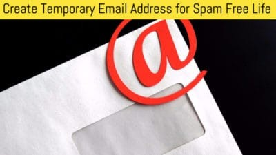 Create Temporary Mail Address