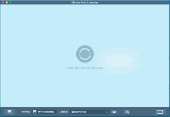 DRmare M4V Video Converter UI