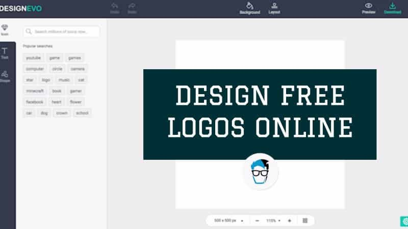 how to design free logo online