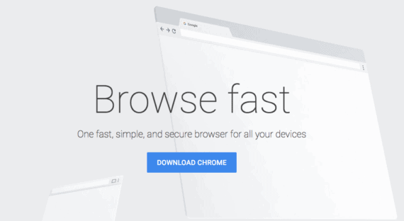 Download Google Chrome to use UltraSurf for Mac